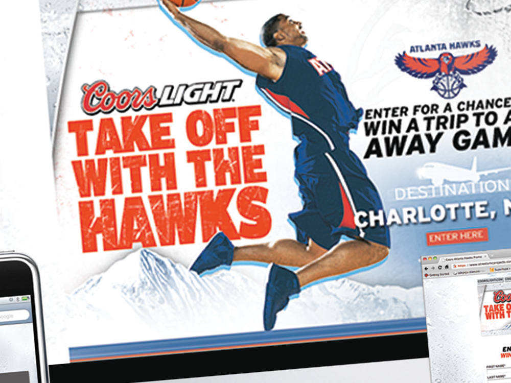 Coors Light Retail Promotion