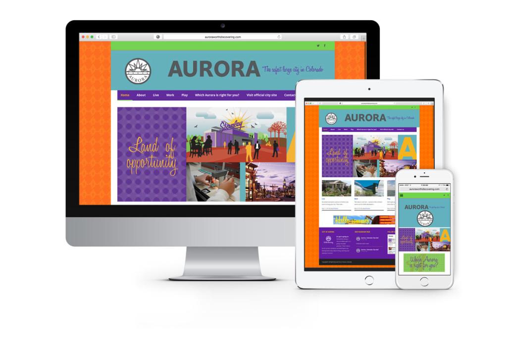 City of Aurora brand website